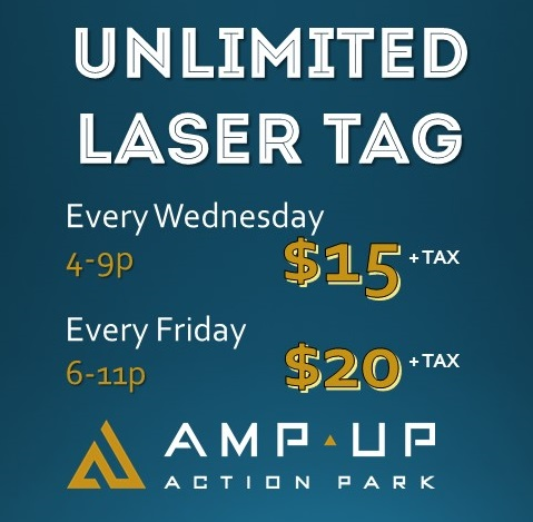 Unlimited Laser Tag 6-11p