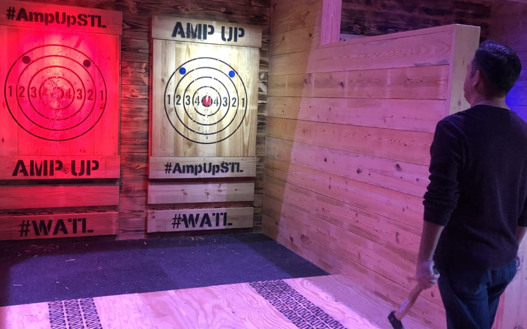 Amp Up Adds Axe Throwing