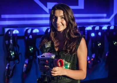 Laser Tag at Amp Up with Adult Female
