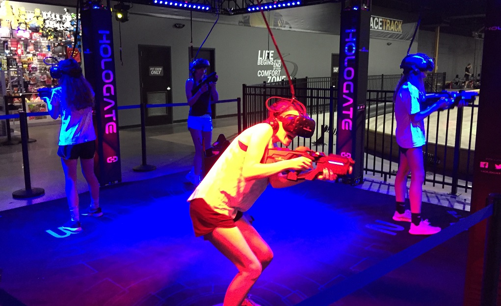 St  Louis Virtual Reality at Amp Up Action Park St  Louis
