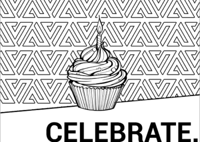 Celebrate Amp Up coloring page