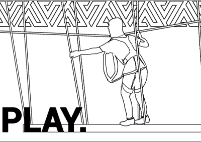 Climb Ropes Amp Up coloring page