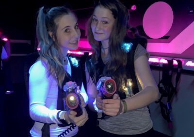 Laser Tag at Amp Up with Teen Girls